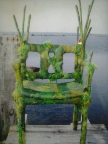 Tovad stol: Vila i det gröna