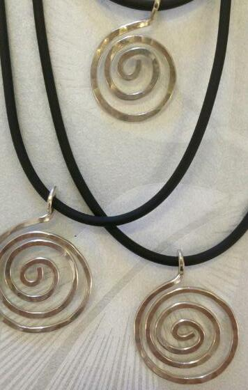 Halsband Silverspiral