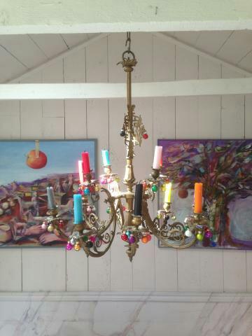 Underbart rum med sagolik takkrona