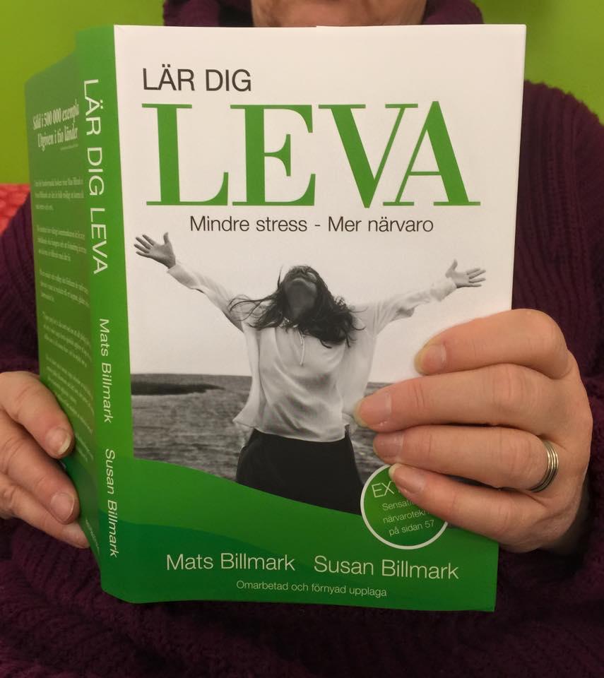 Mats och min bok LÄR DIG LEVA
