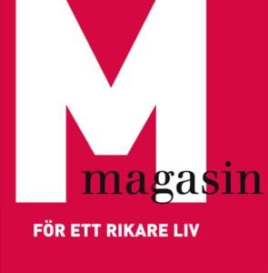 M-Magasin Logga