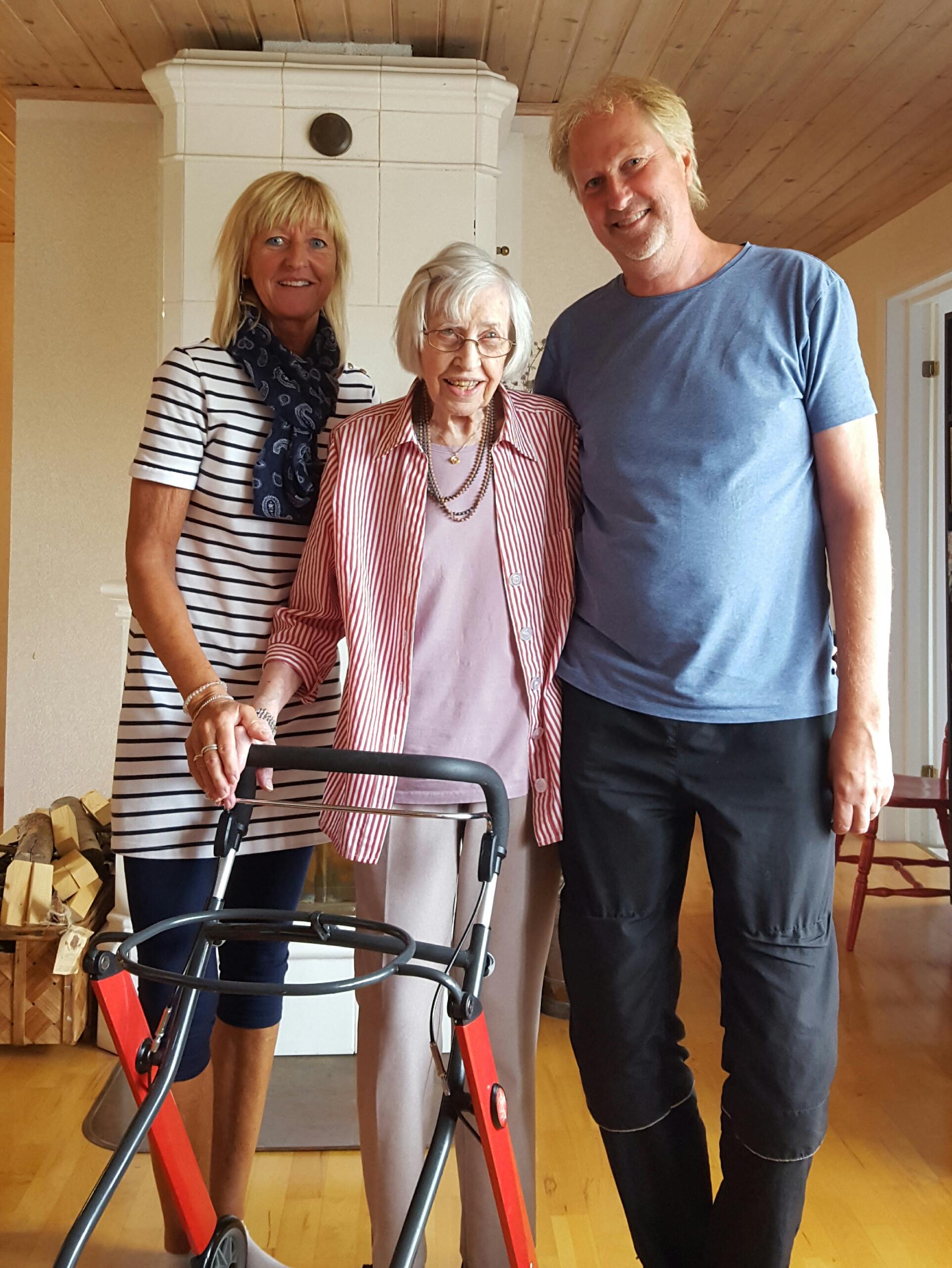 Susanne, Astrid och Mats